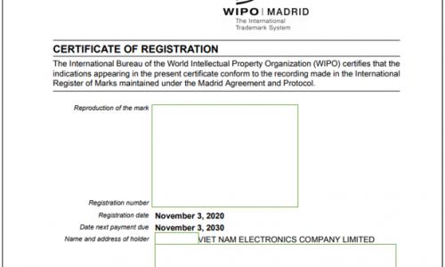 Đăng ký nhãn hiệu quốc tế thông qua hệ thống Madrid 2021